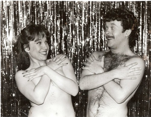 Found Photo Naked Male And Female Actors by A.Currell