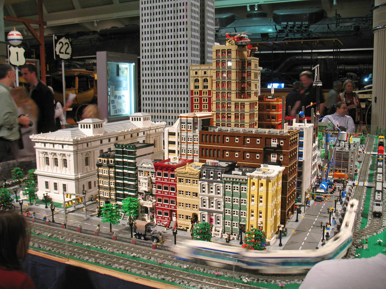 Midwestern Auto Group >> Lego City and train layout at The Henry Ford Museum - a ...
