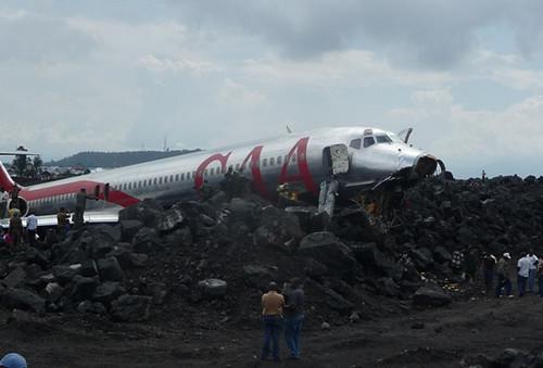 Crash d'un avion de la compagnie CAA à Goma 1