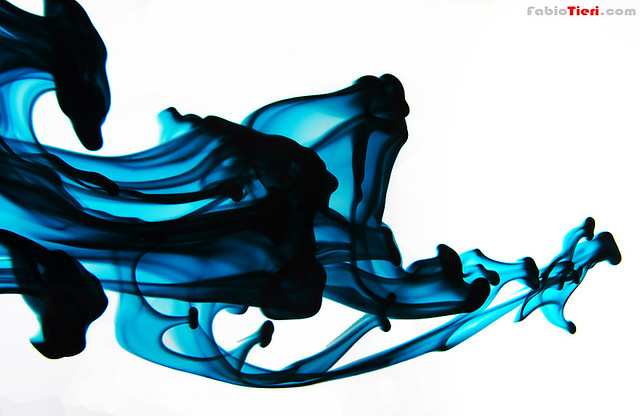 Art - abstract - forms - blue - image