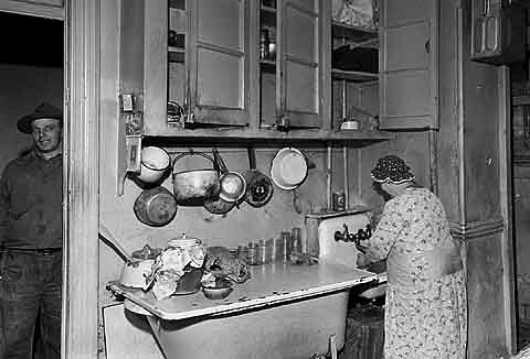 Kitchen Of A Lower East Side East Village Tenement That