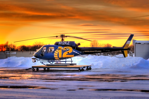 winter snow newyork canon aviation longisland helicopter top10 farmingdale hdr spotting eurocopter as350 photomatix as350b2 4579 frg 3exp news12 kfrg republicairport blizzard09 nycaviation canong11 n12kz chopper12