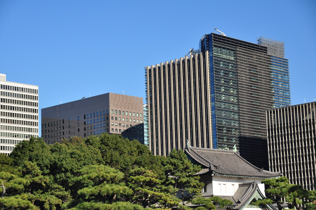 Tokyo near Imperial Palace