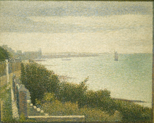 Georges Seurat: Grandcamp, Evening (1885)