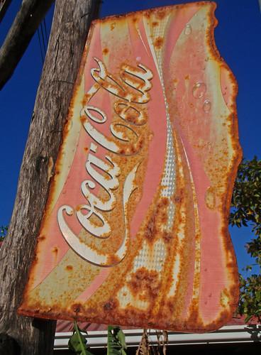 listing Coca Cola sign
