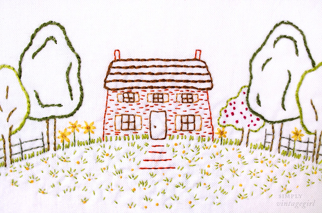 Embroidered Homestead