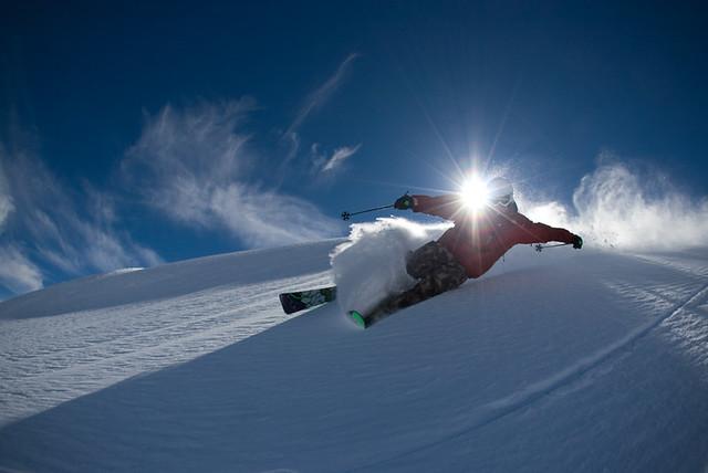 Running in Skis
