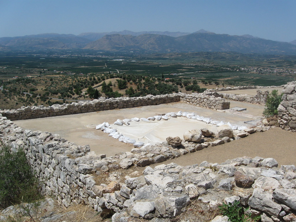 Megaron at Mycenae