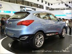hyundai tucson(0.0), automobile(1.0), automotive exterior(1.0), sport utility vehicle(1.0), hyundai(1.0), vehicle(1.0), automotive design(1.0), compact sport utility vehicle(1.0), mid-size car(1.0), crossover suv(1.0), bumper(1.0), land vehicle(1.0),