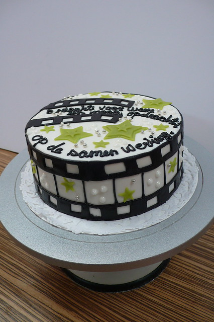Cake With Photo Reel : Film Reel Cake Flickr - Photo Sharing!