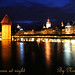 Lucerne at night by Nino H