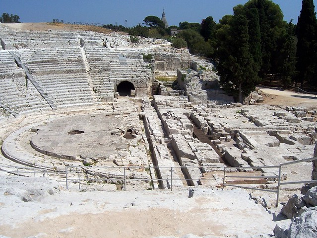 Greek Theatre, Archaeological Park of Neapolis, Siracusa, Sicily