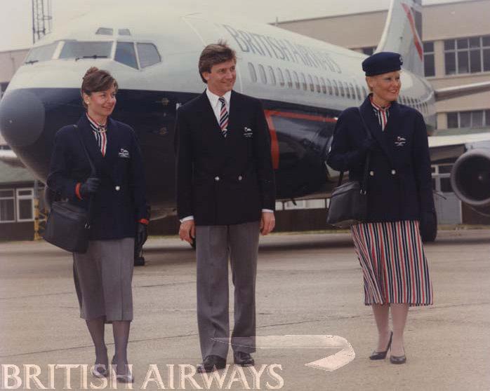 1980s - British Airways uniforms
