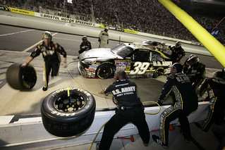 Army Racing pit stop