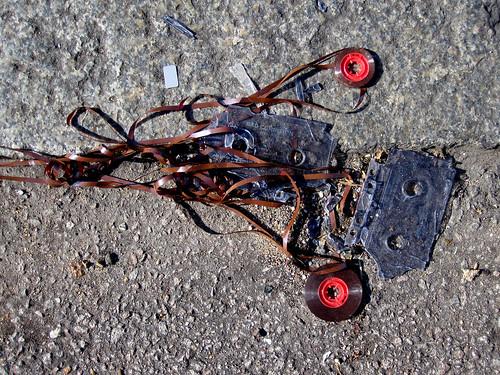 Cassette tape death
