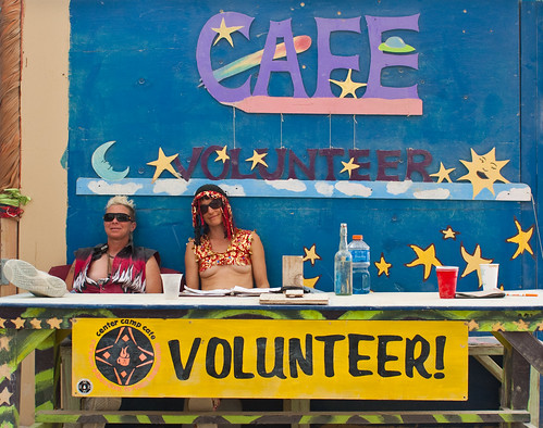 BURNING MAN VOLUNTEER