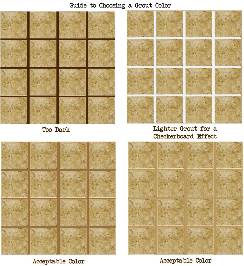How To Choose A Grout Color Flickr Photo Sharing