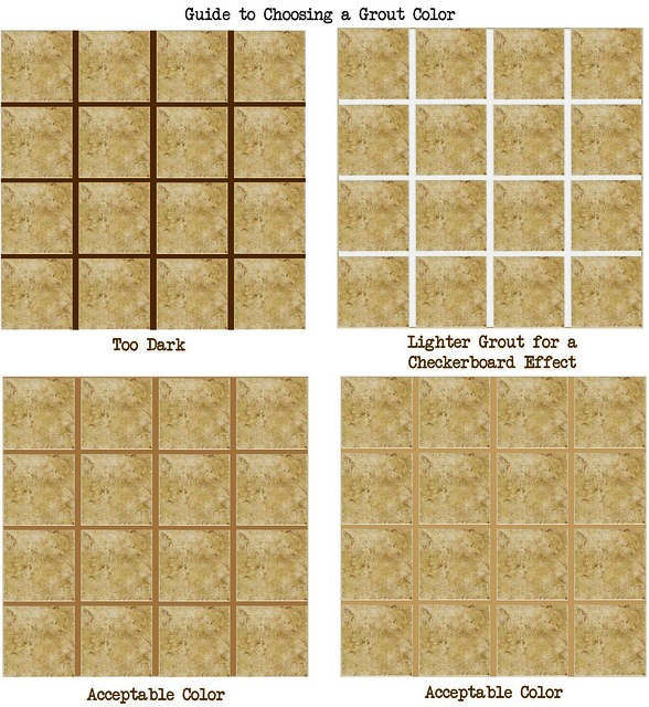 how to choose a grout color visit for
