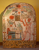 Priest Padiouiset presents incense to the sun god Re-Atoum