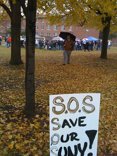 Protest against tuition increased