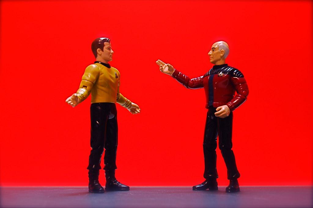 Kirk vs. Picard (2/365)