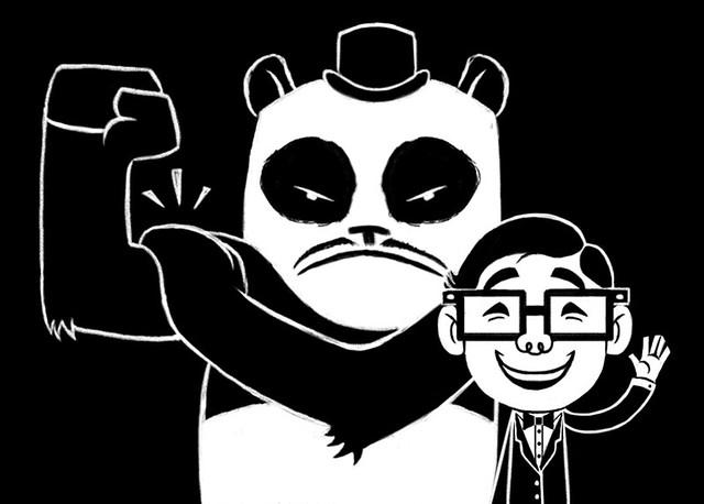 A Boy and His Panda