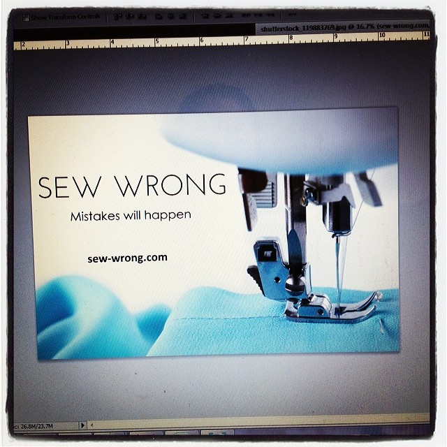 Making business cards for the blog!