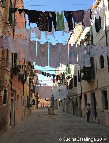 Venedig Wäsche