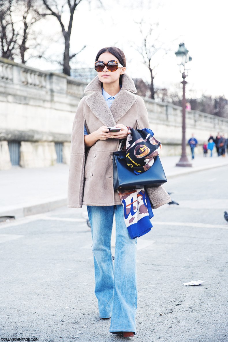 Paris_Fashion_Week_Fall_14-Street_Style-PFW-_Valentino-Miroslava_Duma-Denim-Shearling_Vest-2