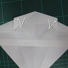 วิธีพับกระดาษเป็นรูปปลาแซลม่อน (Origami Salmon) 015
