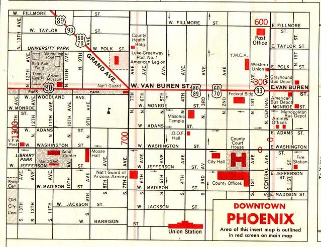 1964 Signal Gas Road Map  Flickr  Photo Sharing