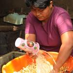 Rinsing the Corn - Masaya, Nicaragua