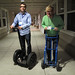 Segway Race Between Nick & Joel, Nick has a slight advantage by Scott Beale