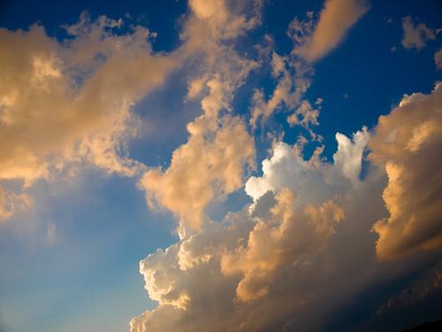sunset sky wisconsin clouds