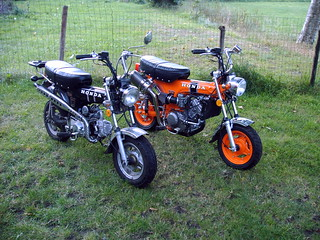 Honda dax, original and a bit modified..