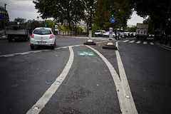 Paris Turning Lane