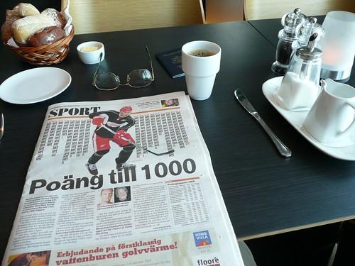 Dagens Nyheter Breakfast 1Okt09