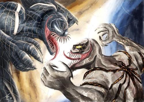 Venom vs Anti-Venom by alecyl super | Flickr - Photo Sharing!