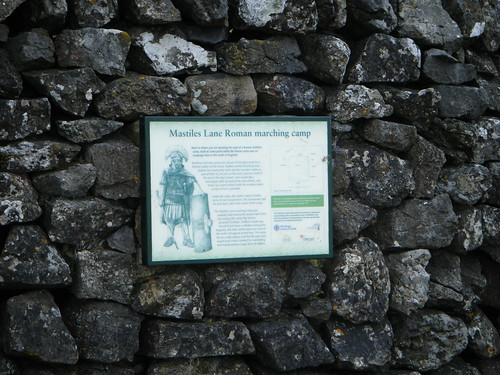 Roman marching camp sign