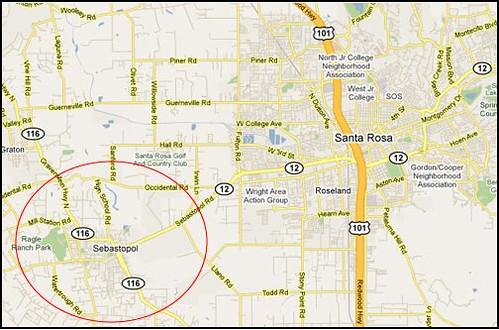 map sebastopol