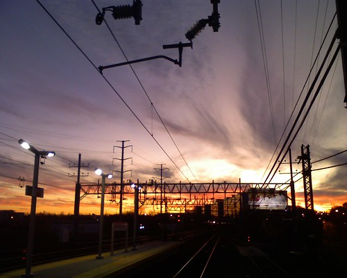 Stamford sunset apocalypse