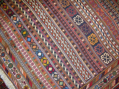 Flat Weave Carpet, Amin's Shop, Damascus, Syria