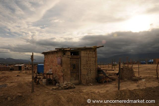 Basic Living in Pampagalana - Tarija, Bolivia
