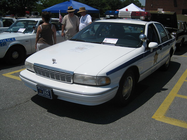 96 Caprice Classic Police Cars http://www.flickr.com/photos/travels16/4166692195/