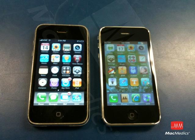 Ebay iphone 3gs / Fondos de escudos