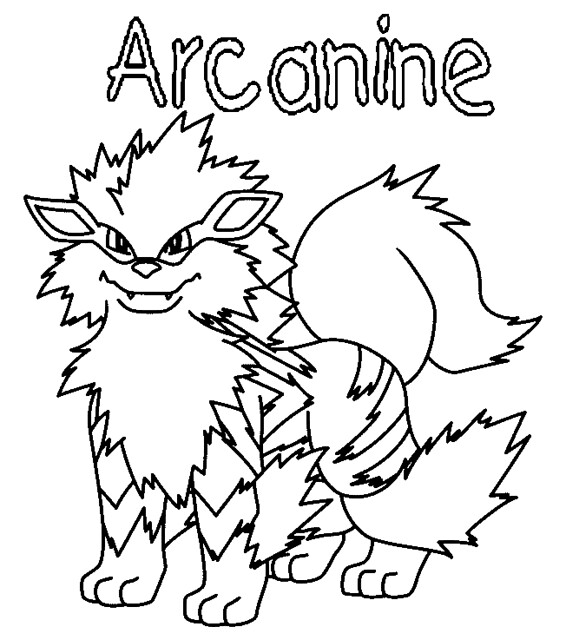 Pokemon Arcanine Flickr Photo Sharing