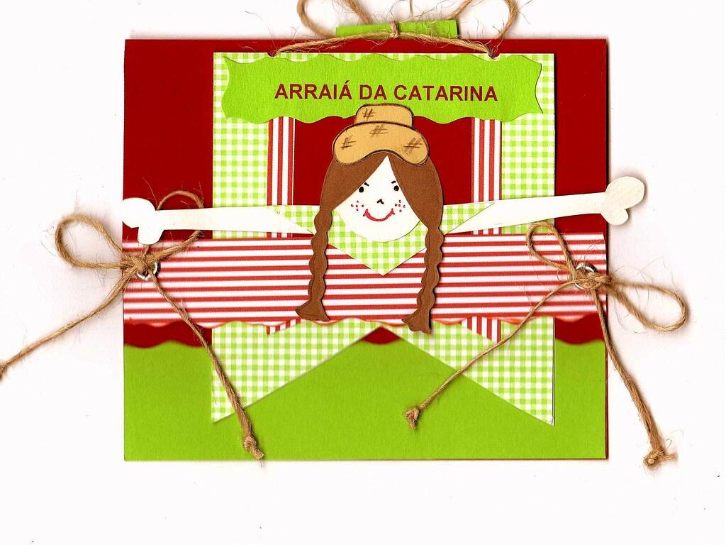 Convite De Aniversário Festa Junina O Tema Da Festa De Ani Flickr