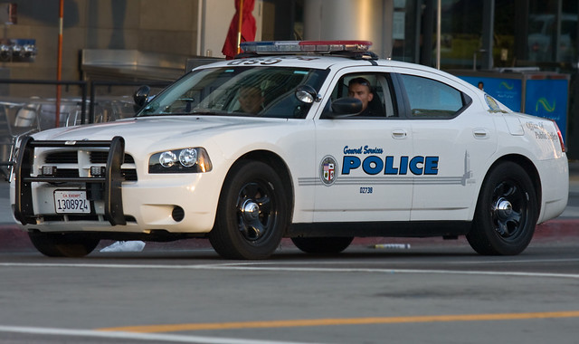 Los Angeles General Services Police Dodge Charger Shop