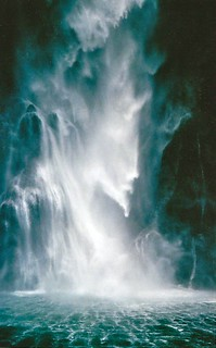 waterfall - milford sound