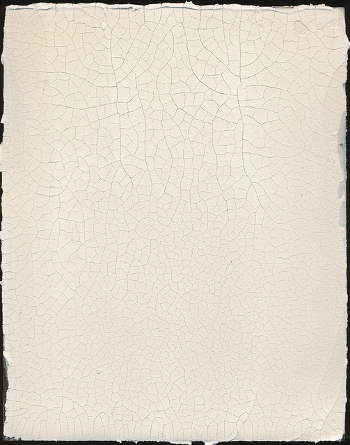 Gesso Over Cracked Oil Painting Sand